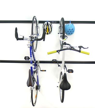 Крюк для компактного хранения велосипеда вертикально на стене